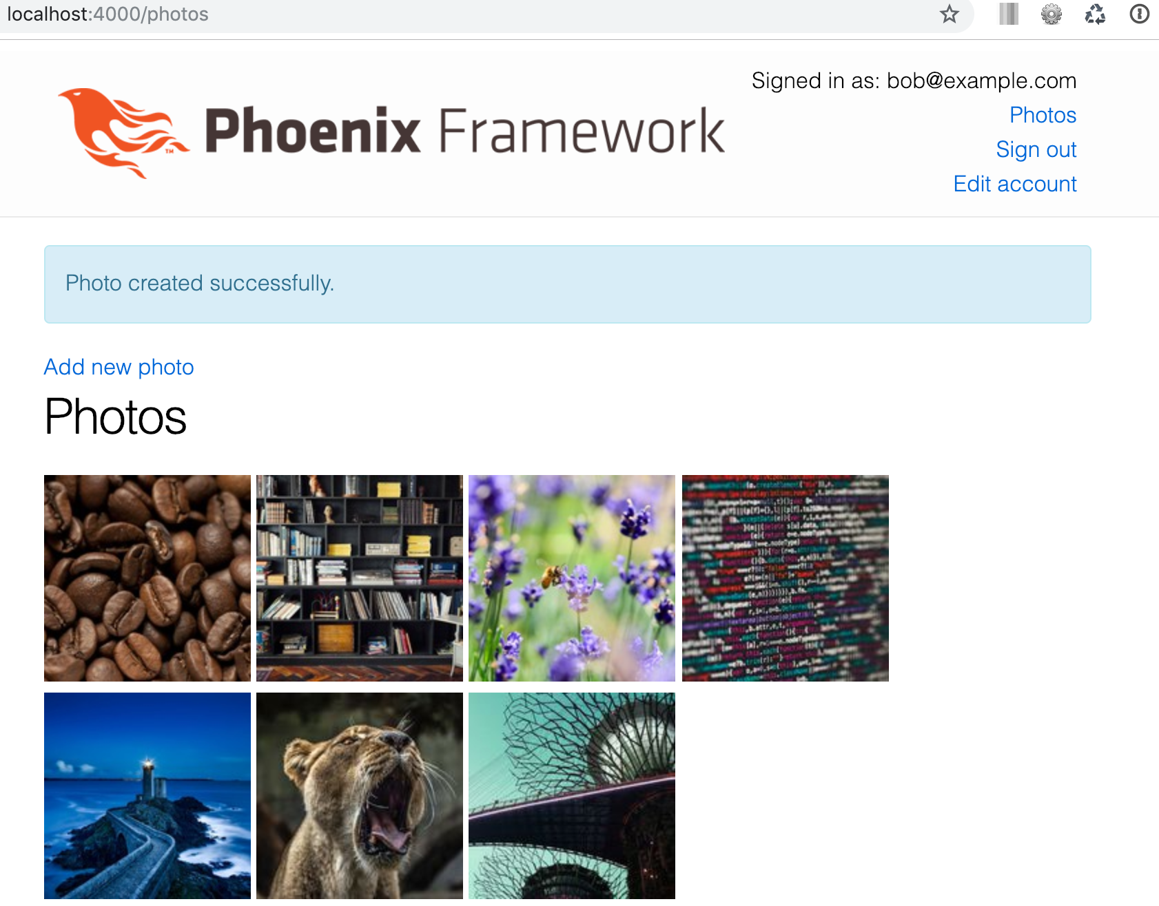 Creating a Photo Gallery in Phoenix with Arc - Part 1